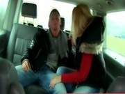 Public outdoor amateur couple foreplay