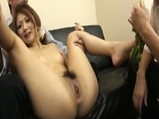 Hibiki Ohtsuki Nasty Asian Slut Gets Her Fill Of Veggies 7 by As