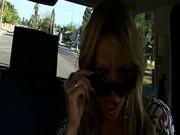 Backseat Lesbian Sex With Audrey Bitoni and Kelly Madison