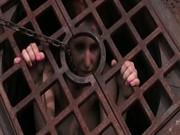 Teen locked in hole
