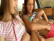 Three russian chicks masturbating
