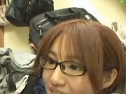Miku Tanaka Nice Japanese doll gets a facial in public 4 by Publ
