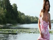 Busty beauty princess posing naked