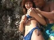 Ann Nanba Asian doll enjoys super outdoor sex action 1 by outdoo