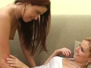 Cute Young Lesbians having dildo fucking 2 by LesbianBarefoot