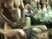 Clothed Women Suck Dick And Fucked By Strippers In Club