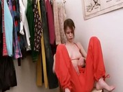Beata teen teasing in dressing room