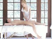 Hot White Girl Smooth Massage