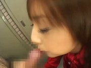 Real amateur japanese teen gets bukkake after sucking cocks