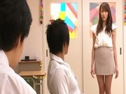 AArisa Sawa is japanese teacher bitch without panties  1 by myJP