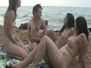 Real amateur public group masturbation