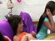College ladies experimenting on dicks