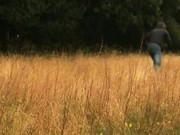 Blondes go hunting in the countryside