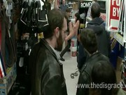 Slut gets used in a hardware store by strangers