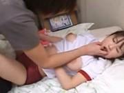 Harsh japanese teen cock sucking