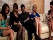 Cfnm group femdom girls humiliation