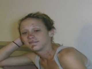 Crackhead talks about her wasted life as a whore working for her