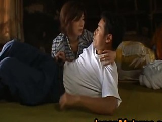 Chisato Shouda Lovely mature Asian chick has hot sex 3 by JapanM