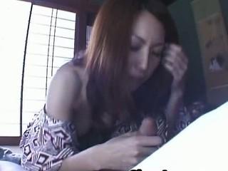 Tomoe Hinatsu Horny Milf enjoys Cock Sucking 2 by SlurpJapanese