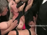 Lezdom orgy welcomes kinky and nasty lesbian sluts to live their
