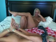 2 Hot Webcam Girls Tie Each Other Up Part 2