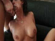 Pheonix gets her mouth and pussy fucked