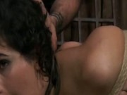 Tits Tortured with Nails