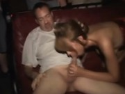 Slutty real public amateur babe gets fucked