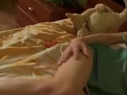 Sweet teen russian babe masturbate