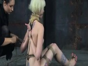 Mean Bitch Tamed in Bondage