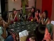 Amateur cfnm party sluts give stripper blowjobs