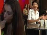 Real cfnm amateur sluts suck stripper cock