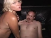 Real amateur public slut fucks and sucks