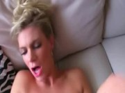 Sexy bus blonde Adele fucks some stranger for money