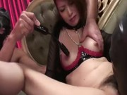 Hot and raunchy fetish scene with Japanese babe Rinka