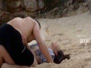 Extremely smart lovers sex on the beach