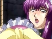 Shemale hentai bondaged gets sucking dick and brutally groupfuck