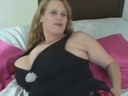 Slut lets the Photographer Grope Her Tits and Pussy