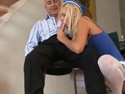 Candy - Pursuing a blonde babe