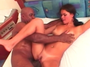 Cute chick trys her first monster cock