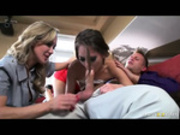 Brandi Love and Riley Reid in Little Runaway