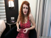 A innocent redhead is a horny slut of pharmacy