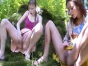Three croatian virgins masturbating