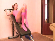 Natashas hotel exercises fucked hard