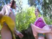 Three german virgins masturbating -2