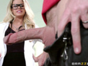 Doctor Jessa Rhodes Takes On The Biggest Cock