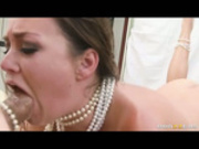 Allie Haze - Dat Pearl Necklace!