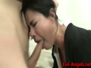 Double penetration into her pussy and asshole cause i love it