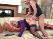 My Mother In Law Likes it Raw with Alura Jenson