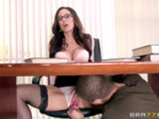 Librarian Needs A Licking with Kendra Lust